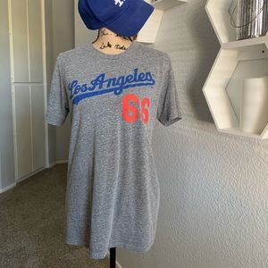L.A. Dodgers 66 Puig women's large tee